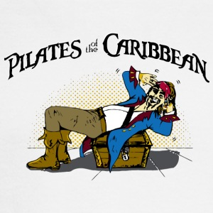 Pilates of the Caribbean - Men's Long Sleeve T-Shirt