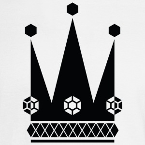 Ornate-black-king-royal-crowns-vector-picture - Men's Long Sleeve T-Shirt