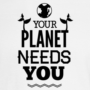 YOUR_PLANETS_NEED_YOU-01 - Men's Long Sleeve T-Shirt