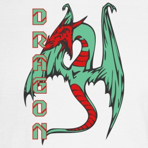 flying_dragon_long_tail_color - Men's Long Sleeve T-Shirt