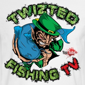 Official Twizted Fishing TV Logo!! - Men's Long Sleeve T-Shirt