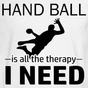 Hand Ball is my therapy - Men's Long Sleeve T-Shirt