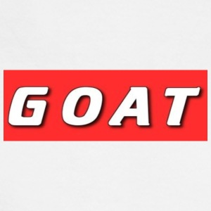 GOAT BOX LOGO - Men's Long Sleeve T-Shirt