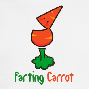 Farting Carrot - Men's Long Sleeve T-Shirt