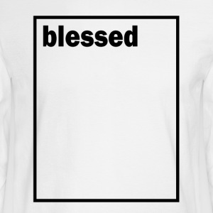 Blessed - Men's Long Sleeve T-Shirt