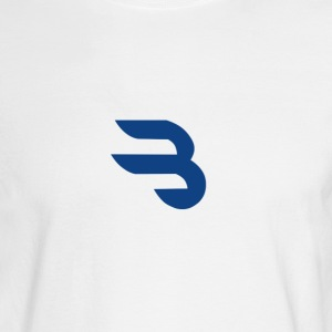 B logo - Men's Long Sleeve T-Shirt