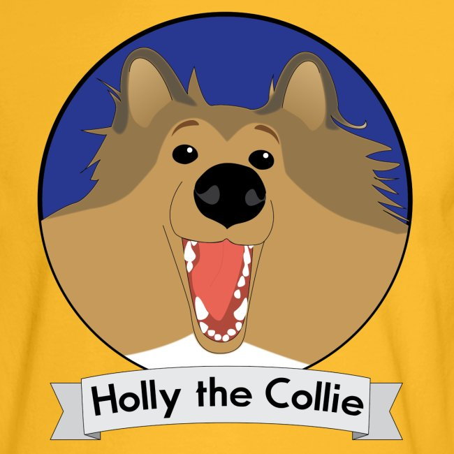 Holly the Collie blue