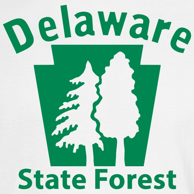 Delaware State Forest Keystone (w/trees)