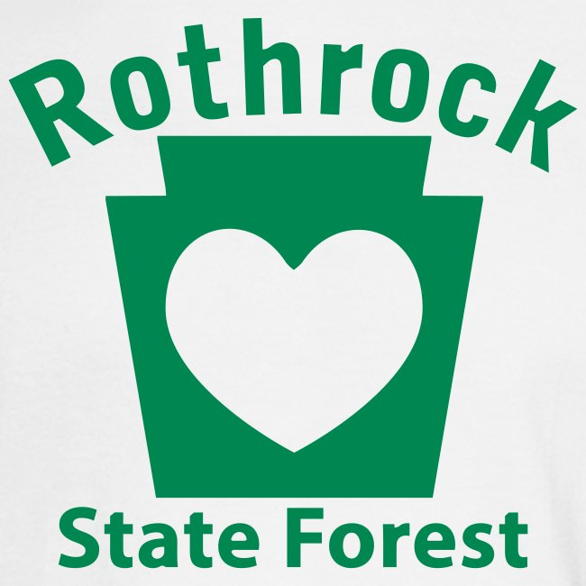 Rothrock State Forest Keystone Heart