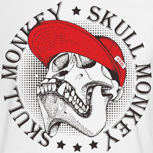 skull monkey vintage