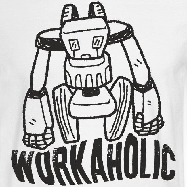 workaholic robot job