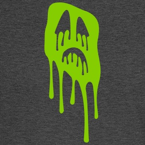 slimy grimace - halloween - Men's Long Sleeve T-Shirt