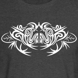 Big Tribal frog and leaves - Men's Long Sleeve T-Shirt
