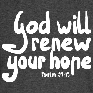 God Will Renew Your Hope - Men's Long Sleeve T-Shirt