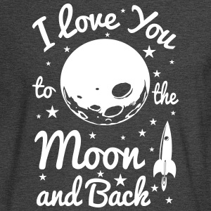 I Love You To The Moon - Men's Long Sleeve T-Shirt