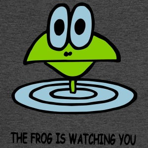 the frog is watching you - Men's Long Sleeve T-Shirt