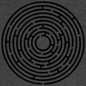 maze-circle-123rf - Men's Long Sleeve T-Shirt