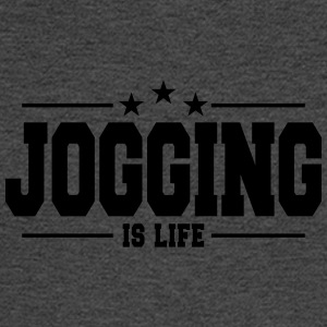 Jogging is life 1 - Men's Long Sleeve T-Shirt