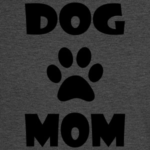DOG MOM WITH PAW PRINT - Men's Long Sleeve T-Shirt
