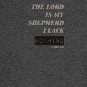The Lord is My Shepherd - Men's Long Sleeve T-Shirt