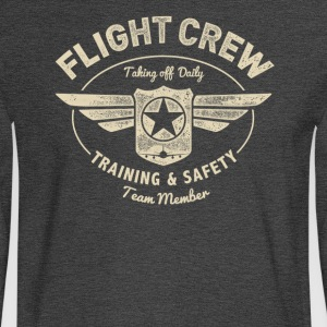 Flight Crew - Men's Long Sleeve T-Shirt
