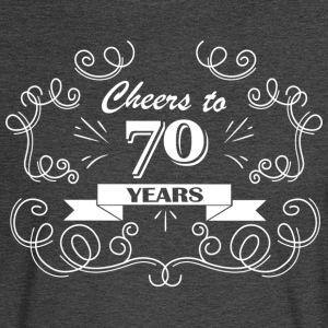 Cheers to 70 years - Men's Long Sleeve T-Shirt
