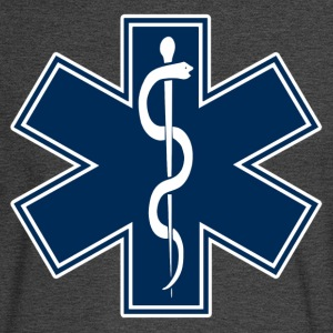 Paramedic EMT EMS Star of Life - Men's Long Sleeve T-Shirt