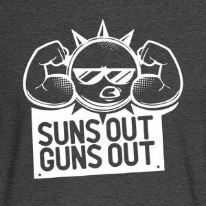 Suns Out Guns Out - Men's Long Sleeve T-Shirt