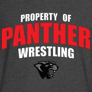Property Panther Wrestling - Men's Long Sleeve T-Shirt
