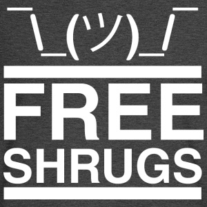 Free Shrugs navy T Shirt - Men's Long Sleeve T-Shirt