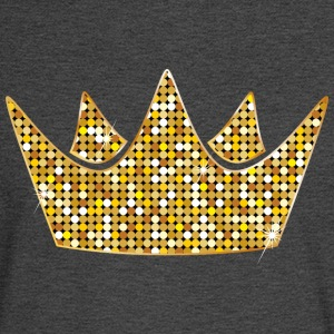 silver-gold-crovn-VIP-lable-crown-diamonds-princes - Men's Long Sleeve T-Shirt
