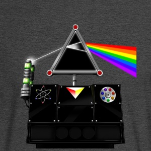 This Island Earth Interocitor Dark Side Prism - Men's Long Sleeve T-Shirt