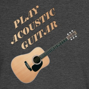 Play Acoustic Guitar - Men's Long Sleeve T-Shirt