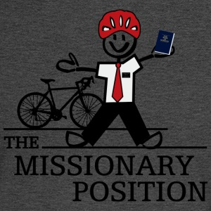 The Missionary Position (Light) - Men's Long Sleeve T-Shirt