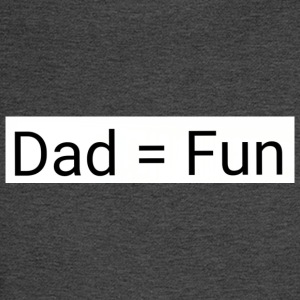 Dad = fun - Men's Long Sleeve T-Shirt