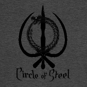 circle_of_steel_logo21 - Men's Long Sleeve T-Shirt