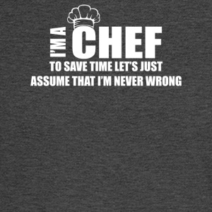 Funny Chef Cook - Men's Long Sleeve T-Shirt