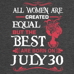 The Best Woman Born On July 30 - Men's Long Sleeve T-Shirt