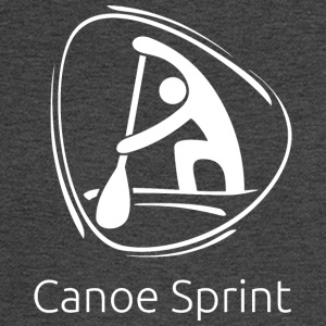 Canoe_sprint_white - Men's Long Sleeve T-Shirt