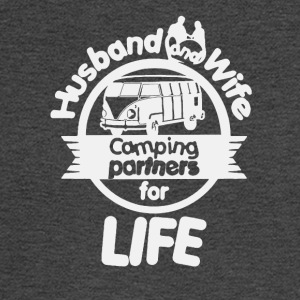 Husband And Wife Camping Partners Shirt - Men's Long Sleeve T-Shirt