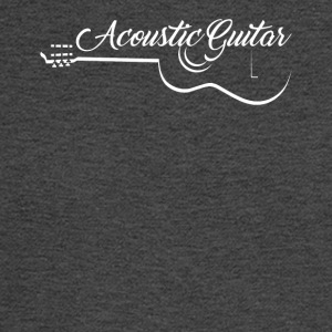 Acoustic Guitar Shirt - Men's Long Sleeve T-Shirt