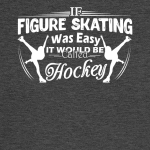 Figure Skating Not Easy Shirt - Men's Long Sleeve T-Shirt