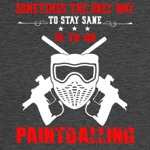 Paintballing Tee Shirt - Men's Long Sleeve T-Shirt