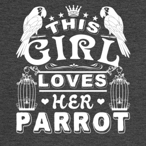 This girl loves her Parrot Shirt - Men's Long Sleeve T-Shirt