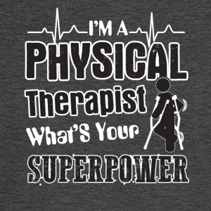 I'm A Physical Therapist What's Your Superpower - Men's Long Sleeve T-Shirt