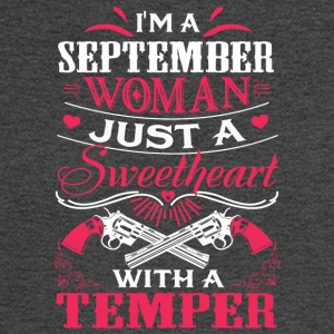 I'm a september woman Just a sweetheart - Men's Long Sleeve T-Shirt