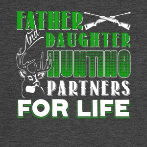 Father And Daughter Hunting Partners Shirt - Men's Long Sleeve T-Shirt