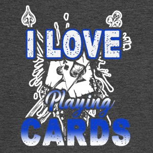 I Love Playing Cards Shirt - Men's Long Sleeve T-Shirt