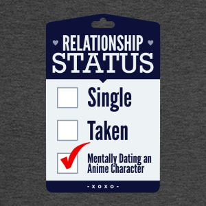 Relationship Status Dating An Anime Character - Men's Long Sleeve T-Shirt