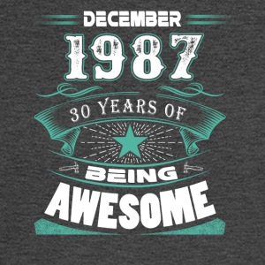 December 1987 - 30 years of being awesome - Men's Long Sleeve T-Shirt